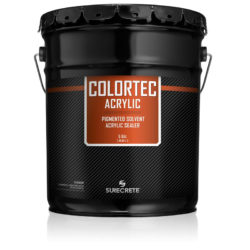 SureCrete Authorized Distributor ColorTec Acrylic™ is an exterior concrete paint that can be used for coloring driveway and sidewalk