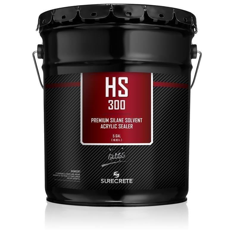 SureCrete Authorized Distributor SureCrete's HS 300™ Series is a premium, high-performance, single-component, 30% acrylic solids sealer