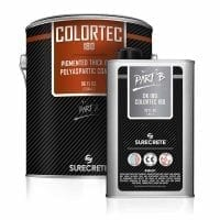 SureCrete Authorized Distributor industrial grade concrete colored floor polyaspartic coating