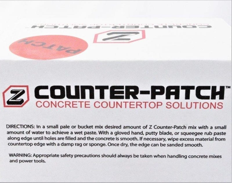 Counterform Patch label