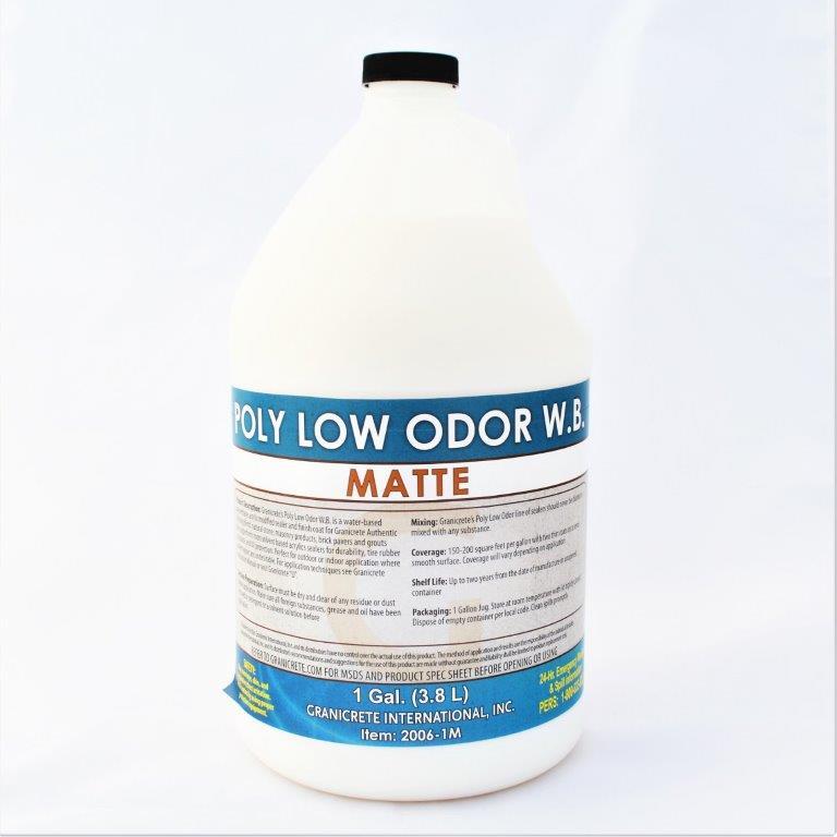Granicrete Poly Low odor Matte