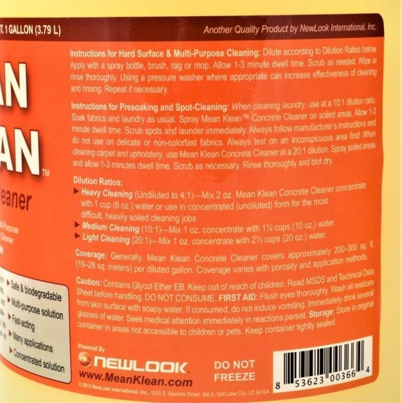 NL Mean Klean label
