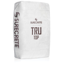 SureCrete Authorized Distributor Thin Concrete Overlay Micro Topping Tight Troweled TruTop™ TruTop™ Micro Topping is a thin concrete overlay mix that can be applied on floors