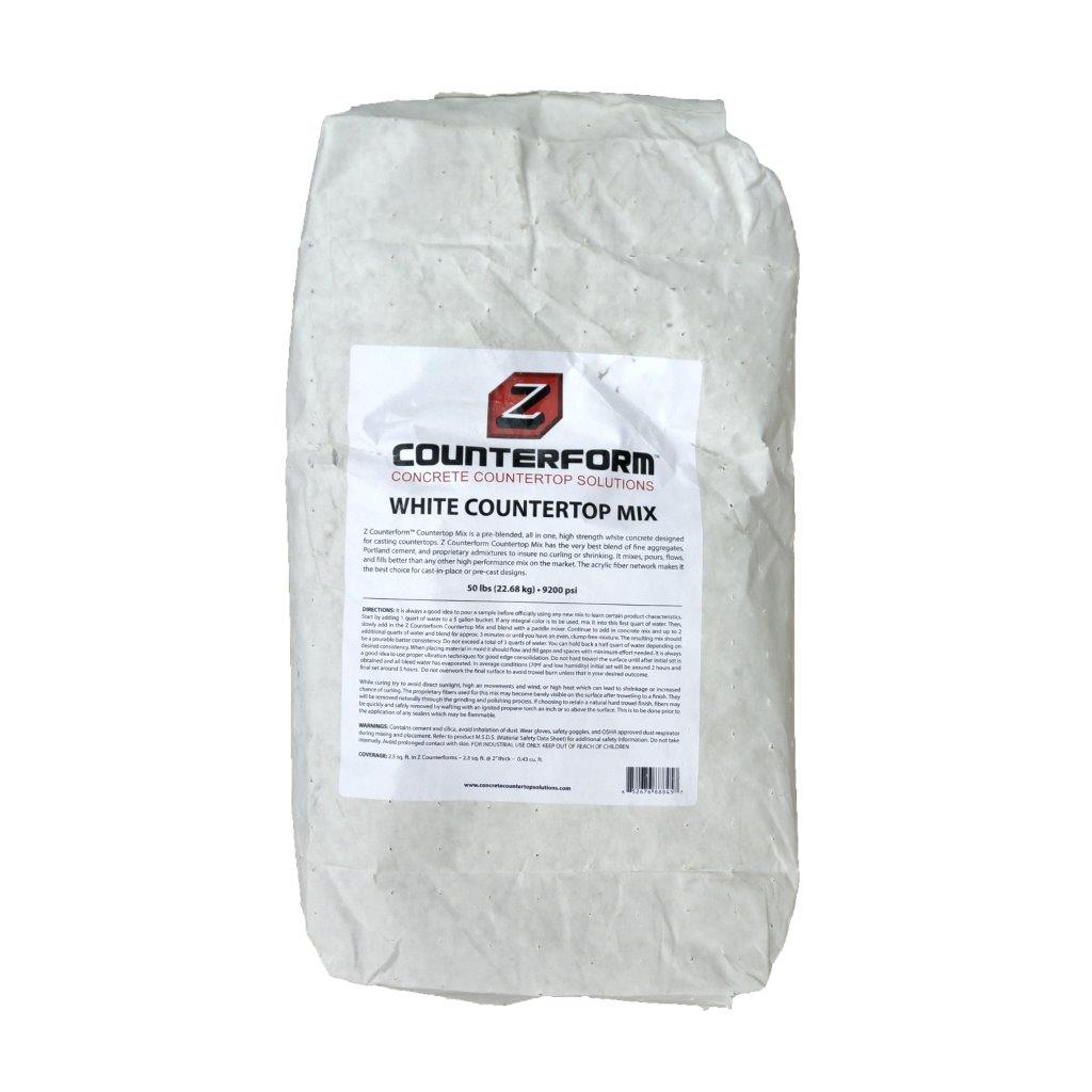 White Countertop Mix Contec Supply