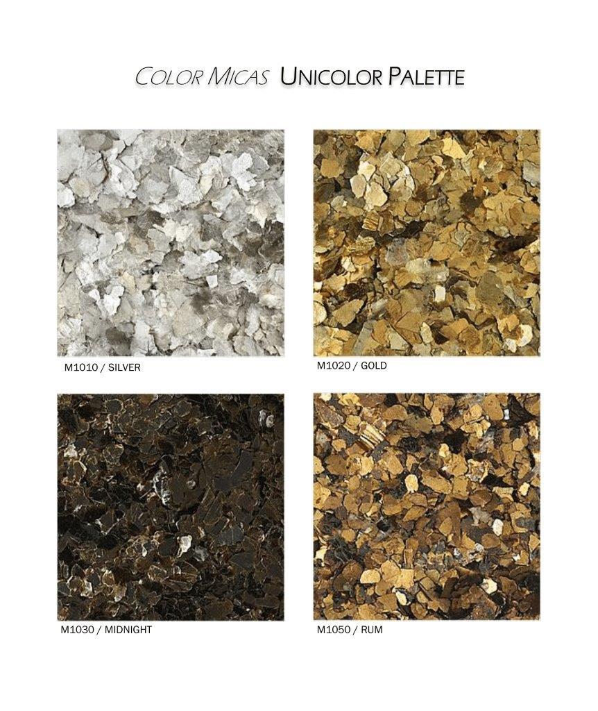 Unicolor Flakes Color Chart